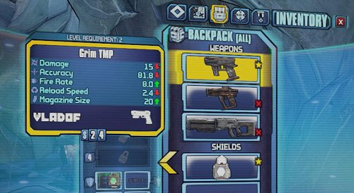 Borderlands 2 inventory slots mod