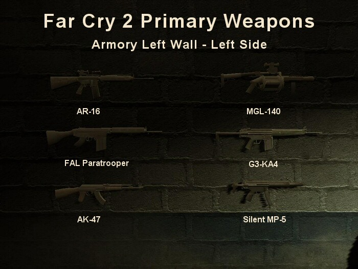 Official Blog For Majorslackvideos Youtube Channelfar Cry 2 Primary Weapons Guide 1 How To Unlock Weapons