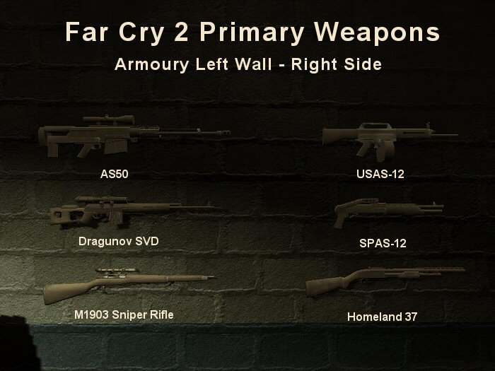 Far Cry 2: Primary Weapons Guide 2 - Required Convoy Missions