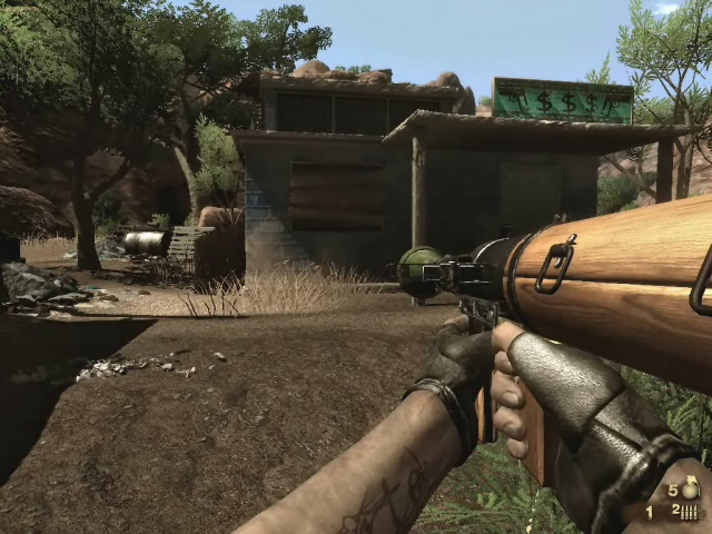 Far Cry 2 Weapons Far Cry 2 Weapon