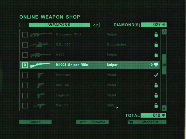 Far Cry 2 Weapons Far Cry 2 Weapon Shop Computer
