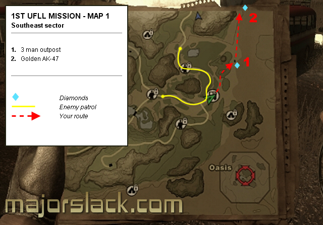 Far Cry 2 1st Ufll Mission Maps Map 1 Majorslack Com